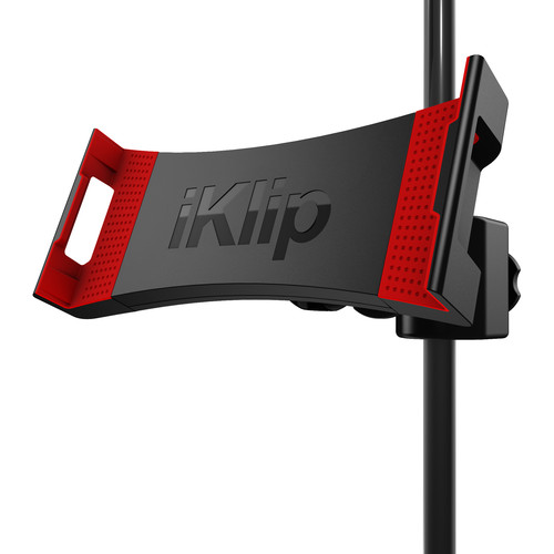 IK Multimedia iKlip 3 Deluxe Universal Tripod Mount and Mic Stand Support for Tablets