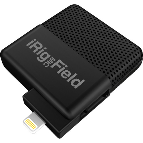IK Multimedia iRig Mic Field- Stereo Digital Field Recording iOS Microphone