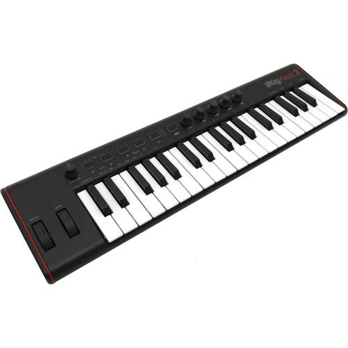 IK Multimedia iRig Keys 2 37-Key USB MIDI Keyboard Controller