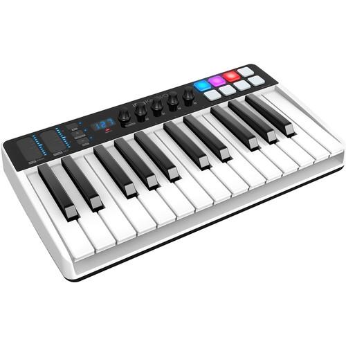 IK Multimedia iRig Keys I/O - Controller/Audio Interface for iPhone, iPad, and Mac/Windows (25-Keys)