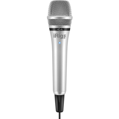IK Multimedia iRig Mic HD-A Handheld Digital Microphone for Android and PC
