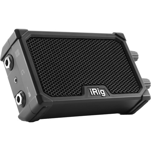 IK Multimedia iRig Nano Amp - Battery-Powered Micro Amplifier & Interface for Mobile Devices (Black)