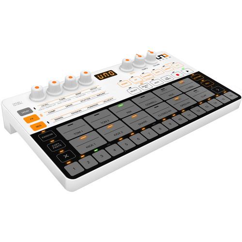 IK Multimedia UNO Drum Portable Analog/PCM Drum Machine