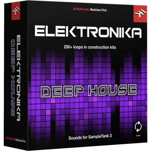 IK Multimedia Deep House - SampleTank 3 Sound Library (Download)