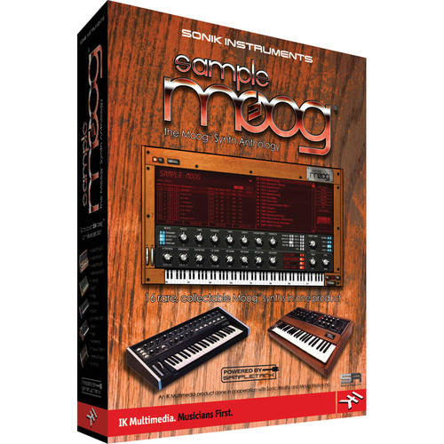 IK Multimedia Sample Moog: The Complete Moog Synth Anthology
