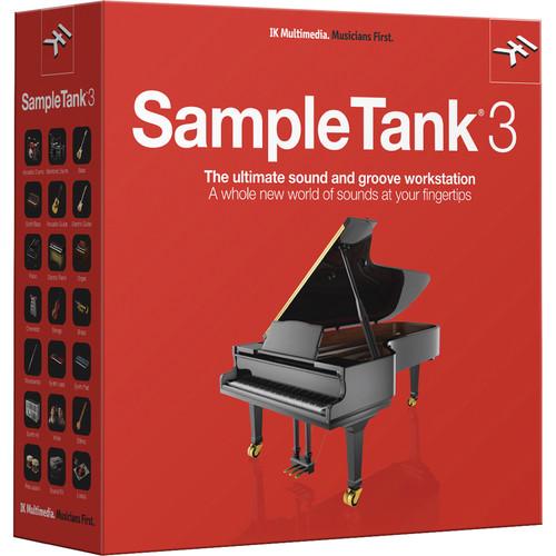IK Multimedia SampleTank 3 Sample-Based Virtual Instrument