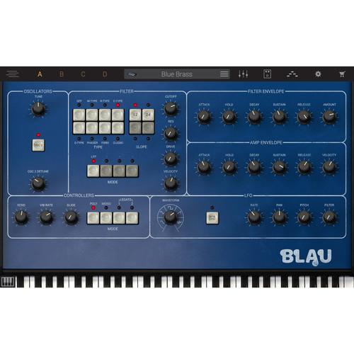 IK Multimedia Syntronik Blau - Virtual Synthesizer Plug-In (Download)