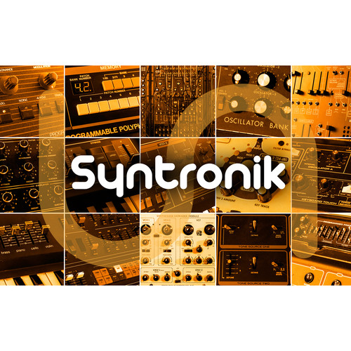 IK Multimedia Syntronik - Virtual Synthesizer Workstation Plug-In (Crossgrade, Download)