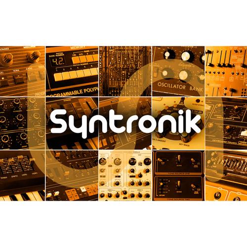 IK Multimedia Syntronik Crossgrade - Virtual Synthesizer Workstation Plug-In (Download)