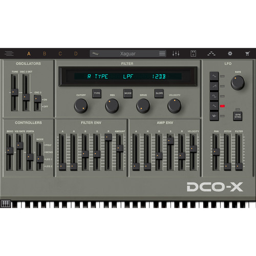 IK Multimedia Syntronik DCO-X - Virtual Synthesizer Plug-In (Download)