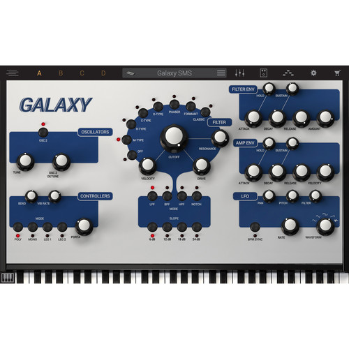 IK Multimedia Galaxy Synth Software