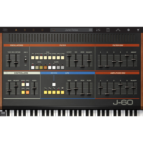 IK Multimedia Syntronik J-60 - Virtual Synthesizer Plug-In (Download)