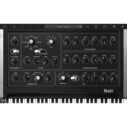 IK Multimedia Syntronik Noir - Virtual Synthesizer Plug-In (Download)
