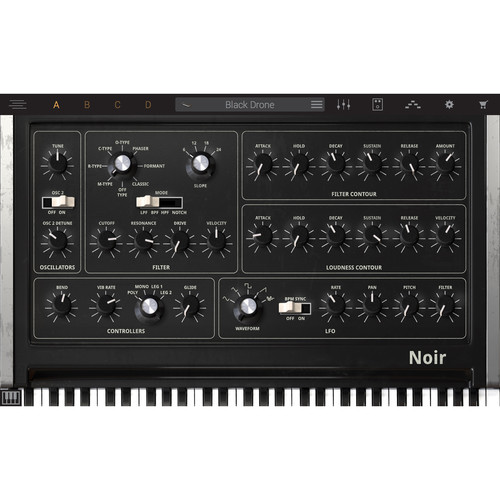 IK Multimedia Syntronik Noir - Virtual Synthesizer Plug-In (Download)