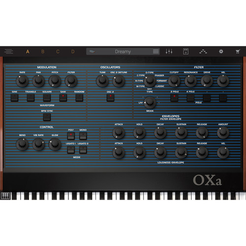 IK Multimedia Syntronik OXa - Virtual Synthesizer Plug-In (Download)