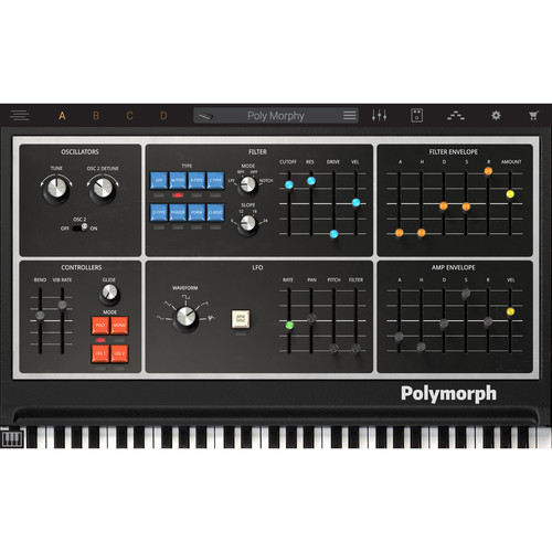 IK Multimedia Syntronik Polymorph - Virtual Synthesizer Plug-In (Download)