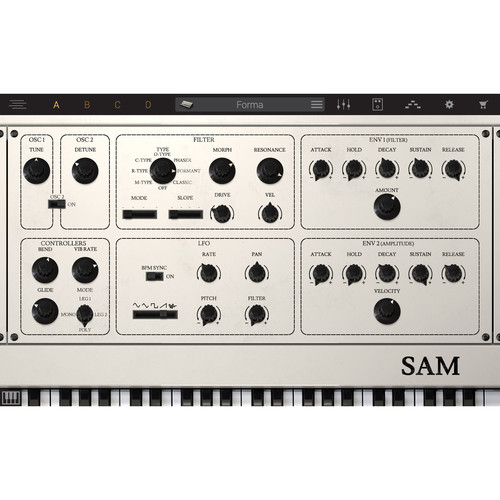 IK Multimedia Syntronik SAM - Virtual Synthesizer Plug-In (Download)