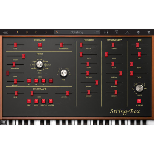IK Multimedia Syntronik String Box - Virtual Synthesizer Plug-In (Download)