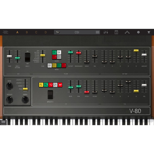 IK Multimedia Syntronik V-80 - Virtual Synthesizer Plug-In (Download)