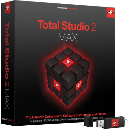 IK Multimedia Total Studio Bundle 2 Max - Software for Audio Production, Mixing & Mastering (Crossgrade, Boxed)