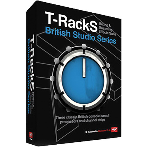IK Multimedia T-Racks British Studio Series (Electronic Software Download)