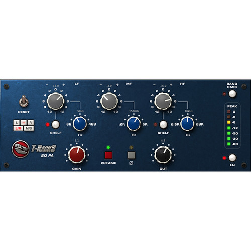 IK Multimedia T-RackS EQ PA - Preamp and EQ Emulation Plug-In (Download)