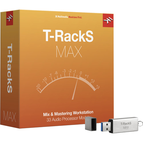 IK Multimedia T-RackS Max - Mastering Plug-In Bundle (Upgrade, Download)
