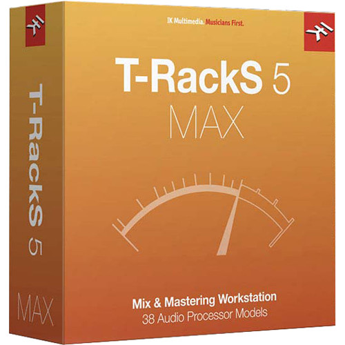IK Multimedia T-RackS 5 MAX Mixing and Mastering Workstation (Full Version, Boxed)