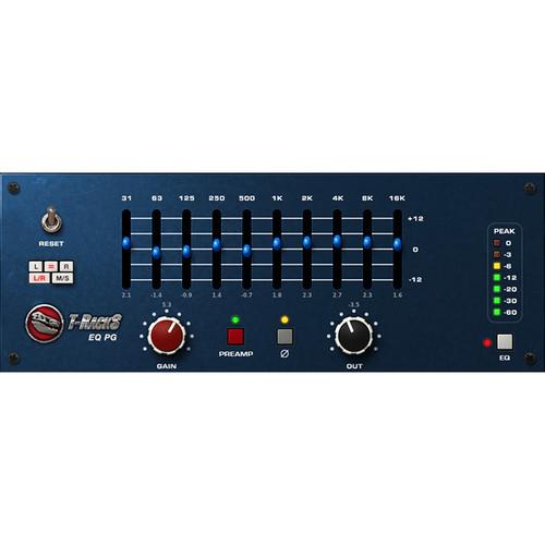 IK Multimedia T-RackS EQ PG - Preamp and EQ Emulation Plug-In (Download)
