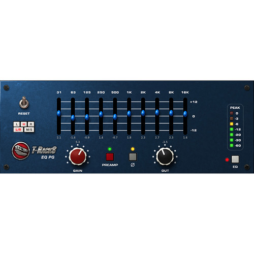 IK Multimedia T-RackS EQ PG - Preamp and EQ Emulation Plug-In (Download)