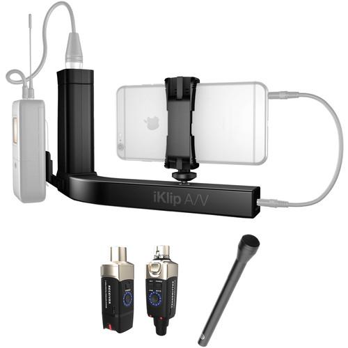 IK Multimedia Wireless Smartphone Interview Kit