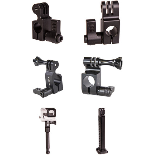 ikan 15/19mm Rod Mount Accessory Kit for GoPro with Baby Pin & Grip Handle