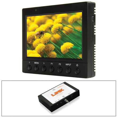 "ikan VK5 5.6"" HD LCD Monitor/D54 Type Battery Plate/ SDI Converter Kit"