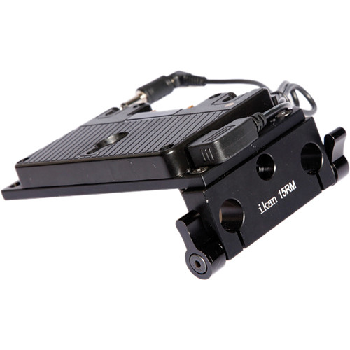 ikan BMC Over/Under Pro Battery Rail Kit (Gold Mount)