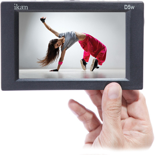"""ikan D5w 5.6"""" Camera Monitor with HD LCD Panel and Waveform"""