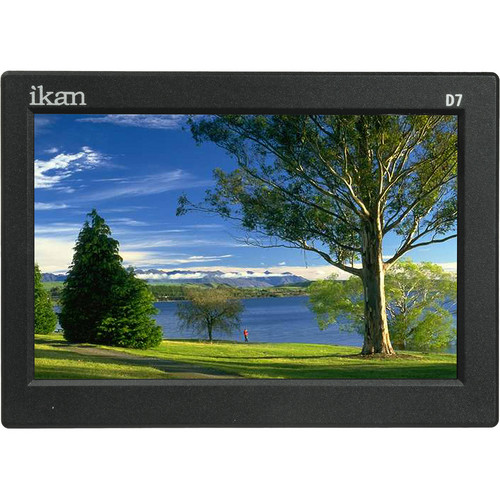 "ikan ikan D7w 7"" 3G-SDI Camera Monitor with Waveform & Sony L-Series Power Kit"