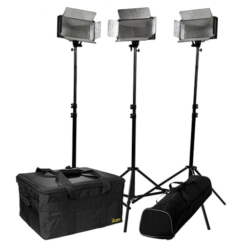 ikan IB500-KIT 3-Piece Light Kit