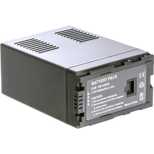 ikan IBP-G6 Panasonic VW-VBG6 DV Battery