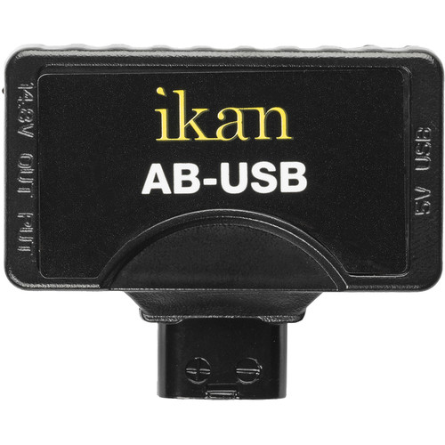 ikan D-Tap to USB Adapter for Gold & V-Mount Batteries