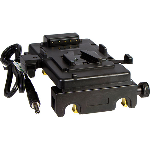 ikan Quick Snap Pro Battery Rail Kit with V-Mount Battery Plate for Blackmagic Cinema Camera / Production Camera