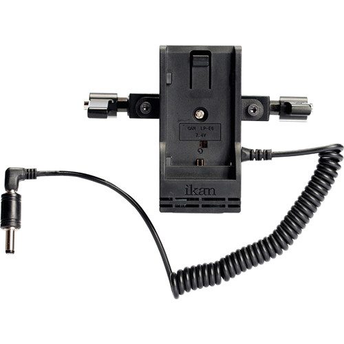 ikan BMC-PWR-2RD-P Blackmagic Dual Rod Mount for Panasonic DV Batteries