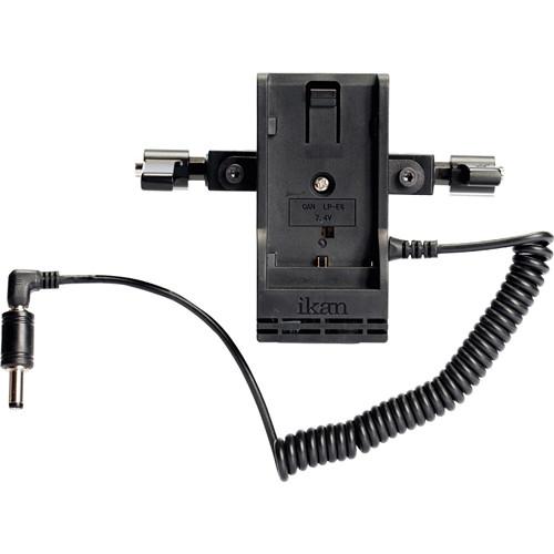 "ikan BMC-PWR-2RD-SU Blackmagic Dual Rod Mount for Sony ""B-PU"" DV Batteries"