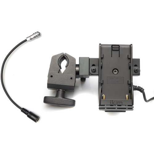ikan Stratus DV Power Kit Battery Plate with Clamp for BMPCC 4K/6K (L-Series)