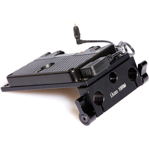ikan Over/Under Pro Battery Kit with Anton Bauer Type Mount for BMPCC