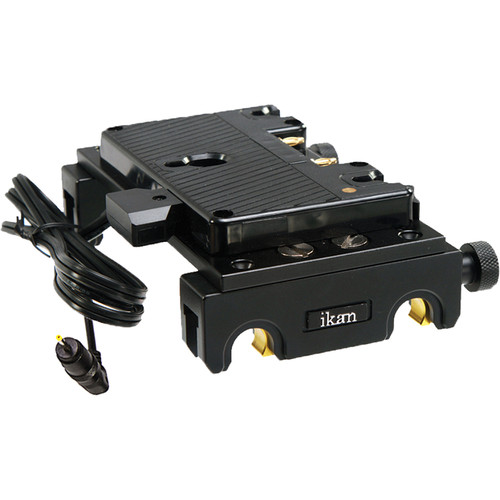 ikan Quick Release Pro Battery Kit with Anton Bauer Type Mount for BMPCC