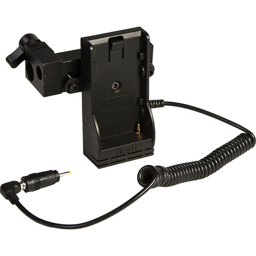 ikan Power Kit with Single Rod Clamp for BMPCC (Canon 900 Type Battery Plate)