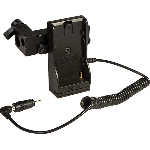 ikan Power Kit with Single Rod Clamp for BMPCC (Canon LP-E6 Type Battery Plate)