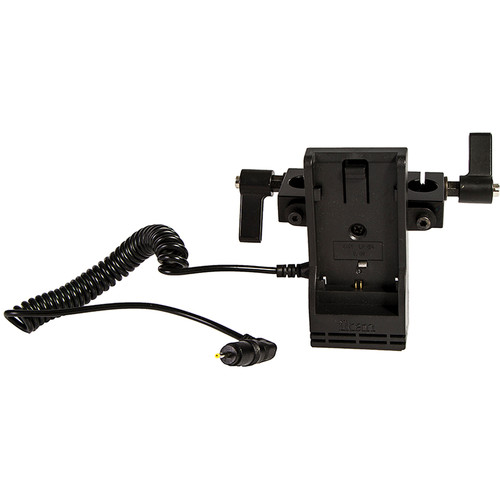ikan Power Kit with Dual Rod Clamp for BMPCC (Canon LP-E6 Type Battery Plate)