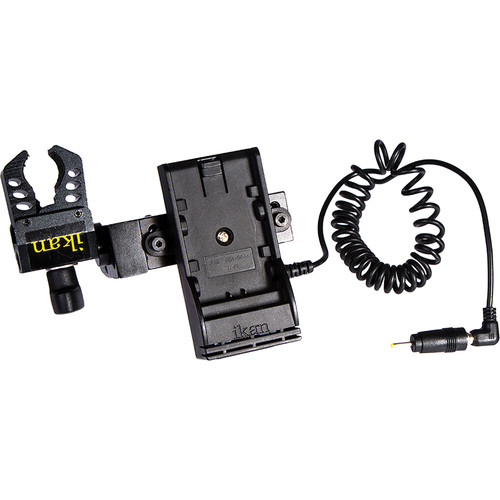 ikan Power Kit with Pinch Clamp for Blackmagic Pocket Cinema Camera (Panasonic D-54 Type Battery Plate)