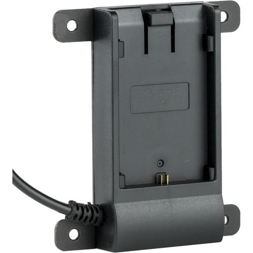 ikan Canon LP-E6 Battey Plate with Coax Connector for VL7e Monitor